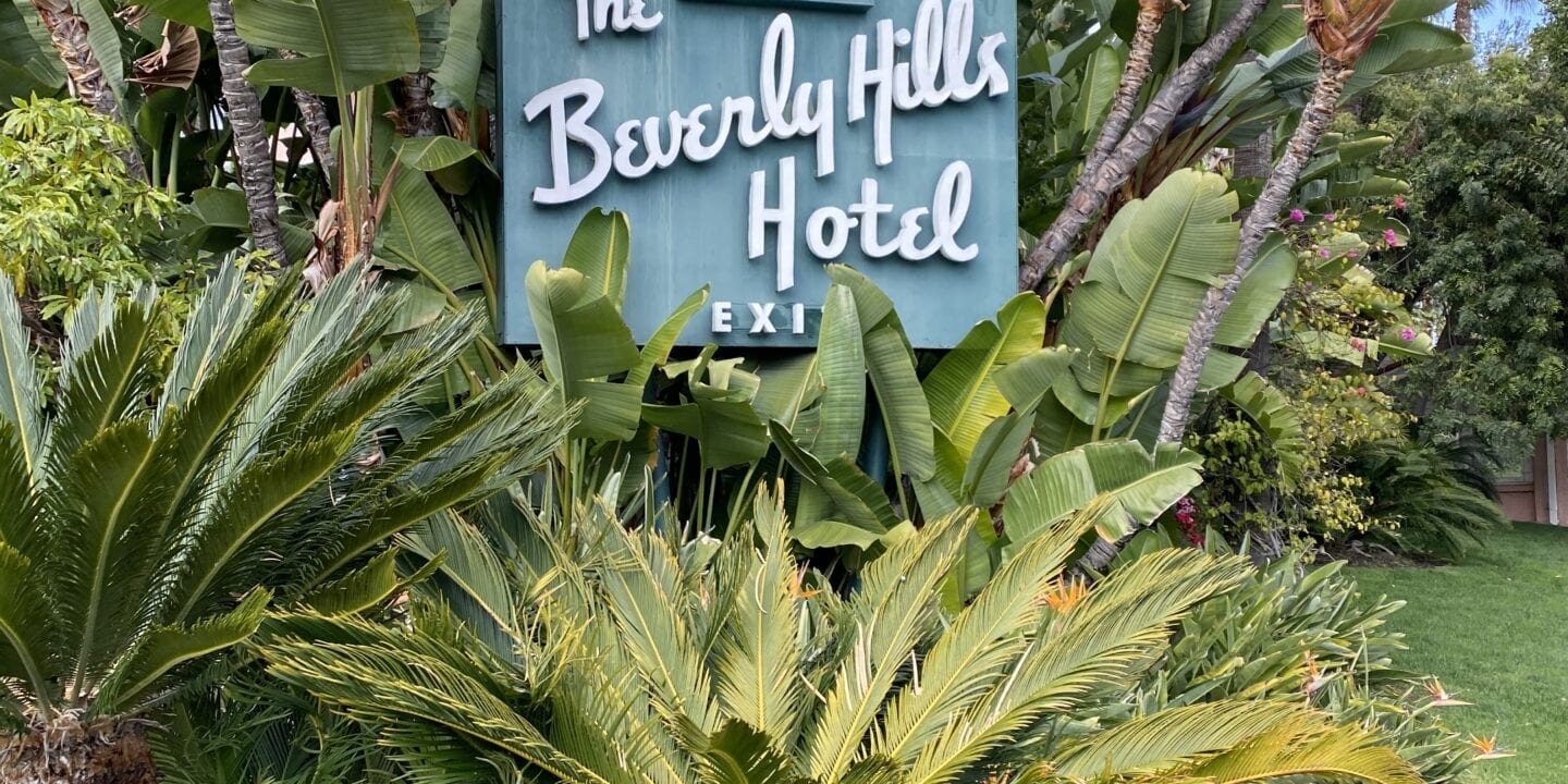 The Beverly Hills Hotel When a hotel becomes far less than hospitable