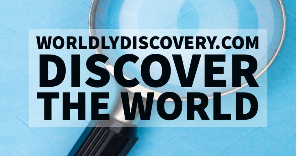 Worldly Discovery. Discover the World.