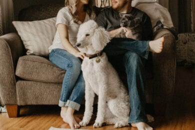 Pet parents admit to spending a lot of money on their fur babies